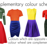 Complementary Colour schemes in Fashion